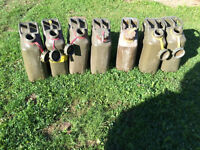 Military style Jerry Gas Can