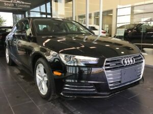 2017 Audi A4 PREMIUM, LOW KM, AWD, ACCIDENT FREE