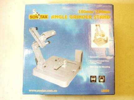 Angle Grinder Stand, 180mm / 230mm, New In Box