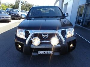 2010 Nissan Navara D40 Series 4 ST-X (4x4) Midnight Black 5 Speed Automatic Dual Cab Pick-up Port Macquarie Port Macquarie City Preview
