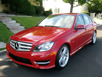Lease takeover - 2012 Mercedes-Benz C250 - low payment !