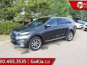 2019 Kia Sorento SXL LIMITED; AWD, LEATHER, PANO ROOF, NAV, PUSH