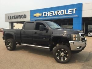 2011 Chevrolet Silverado 3500HD LTZ (Heated Seats, Sunroof, Peda