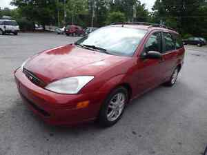 FORD FOCUS WAGON 2002 READY TO GO