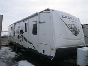 2012 35 FT PRIME TIME RV LACROSSE 319QBS TRAVEL TRAILER