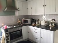 Fitted Kitchen Units & worktop with Zanussi Oven, Hob & Hood
