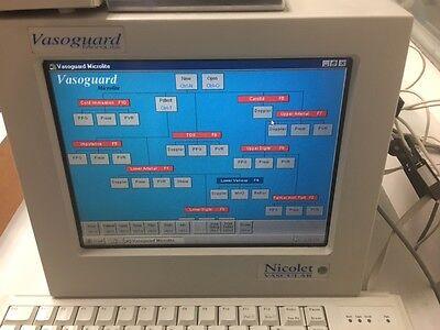 Nicolet Vascular Vasoguard Ultrasound Cardiac
