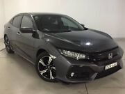 2017 Honda Civic 10th Gen MY17 RS Grey 1 Speed Constant Variable Hatchback Chatswood Willoughby Area Preview