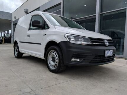 2017 Volkswagen Caddy 2KN MY175 TSI220 Crewvan Maxi DSG White 7 Speed Sports Automatic