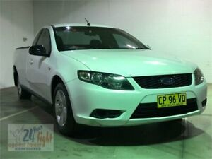 2010 Ford Falcon FG White Automatic Utility Campbelltown Campbelltown Area Preview