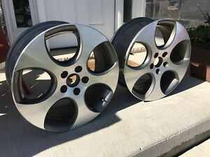 "2 x Golf GTI Jetta 2006-2012 17"" Wheel Rims"