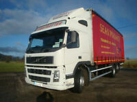 2003 Volvo FM12 420 6x2 Curtainsider Drawbar Hitch