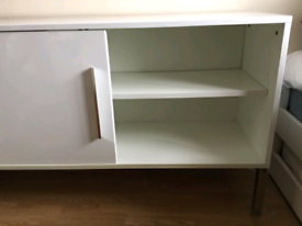 White sideboard/cabinet/tv unit