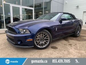 2011 Ford Mustang SHELBY GT 500 CONVERTIBLE EXTREMELY LOW MILEAG