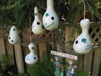 RIDER - - BIRD HOUSES - - GREAT GIFTS