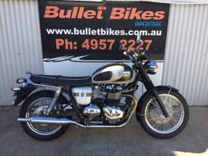 2012 Triumph T100 Limited Edition Mackay Mackay City Preview