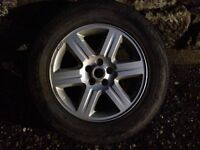 """Land Rover freelander 2 17"""" alloy wheels and tyres"""