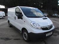 Vauxhall Vivaro SWB 2.0Cdti [115Ps] Van 2.9T Euro 5 DIESEL MANUAL WHITE (2014)