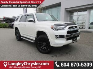 2016 Toyota 4Runner SR5 <B>*LOW KMS*LEATHER*NAVIGATION*<b>