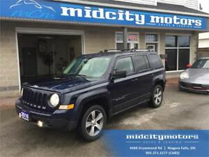 2016 Jeep Patriot 4x4/ Leather/ Heated seats/ Remote start/ NAV