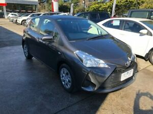 2017 Toyota Yaris NCP130R Ascent Grey 4 Speed Automatic Hatchback Croydon Maroondah Area Preview