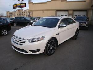 Ford Taurus Limited AWD 2015 usage A/C-GPS-Cuir-Toit-Mags20''-BT