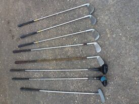 Golf clubs and bag - Ben Sayers clubs