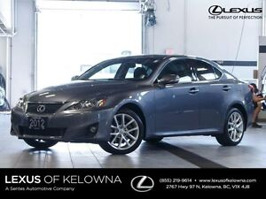 2012 Lexus IS 250 Leather and Moonroof w/Navigation