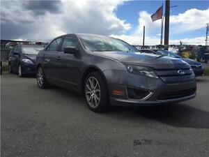 2011 Ford Fusion SEL V6 AWD LEATHER ROOF SENSORS GREAT INSIDEOUT