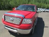 2006 Ford F-150 XLT 4x4 Super Cab Styleside 6.5 ft. box 145 in.