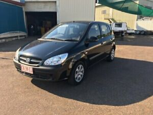 2009 Hyundai Getz TB MY09 S Black 5 Speed Manual Hatchback Berrimah Darwin City Preview