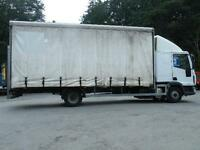 Iveco Eurocargo Sleeper Cab Curtainsider Tail lift