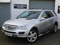 2008 08 Mercedes-Benz ML320 3.0TD CDI 7G-Tronic Sport for sale in AYR