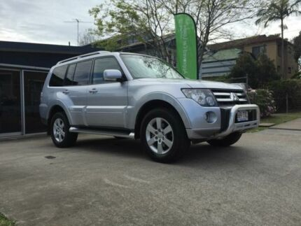 2006 Mitsubishi Pajero NS VRX Silver 5 Speed Automatic Wagon Chermside Brisbane North East Preview