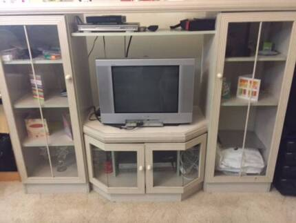 Solid Timber Entertainment & TV Cabinet for Free North Parramatta Parramatta Area Preview