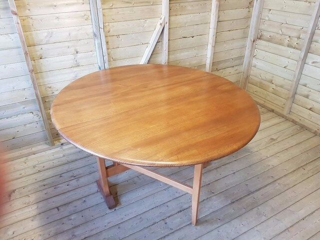 Ercol Oval Drop Leaf Dining TableBlonde Woodin Coventry, West MidlandsGumtree - Original Ercol Oval Drop Leaf Dining Table ( Light Blonde Wood ) Bought for our family home from new in 1970s No offers thank you.. Collection Allesley Village, CV5 9QF
