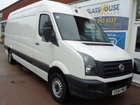 Volkswagen Crafter 2.0TDi ( 109PS ) CR35 LWB 1 owner from new P/X Swap
