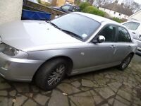 ROVER 75 1.8 16V CONNOISSEUR SE 2004 04 REG 4 DOOR SALOON PAS,AC,CD FULL LEATHER, £1250 ONO