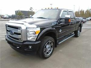 ** 2015 ** FORD ** F-350 ** PLATINUM ** SUPERCREW ** LOW KMS **