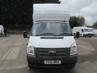 Ford Transit 350 LWB EF Luton with Tail Lift Tdci 125Ps [Drw] DIESEL (2014)