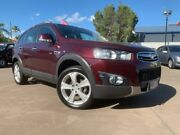 2012 Holden Captiva CG Series II 7 AWD LX Red 6 Speed Sports Automatic Wagon Maryborough Fraser Coast Preview