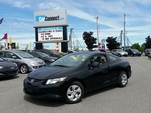2013 Honda Civic ONLY $19 DOWN $55/WKLY!!