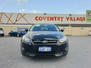 2015 Ford Focus LW MkII MY14 Sport PwrShift Black 6 Speed Sports Automatic Dual Clutch Hatchback