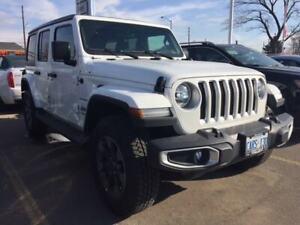 2019 Jeep Wrangler Unlimited SAHARA   DEMO   NAV   HEATED SEATS