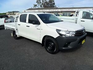 2015 Toyota Hilux GUN122R Workmate White 5 Speed Manual Utility Mudgee Mudgee Area Preview