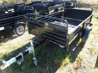 2014 4 IN 1 UTILITY DUMP TRAILER --- IN STOCK