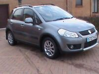 SUZUKI 1.6 SX4 JLX 5 DR GREY 1 YRS MOT FSH,CLICK ON VIDEO LINK TO SEE AND HEAR MORE ABOUT THIS CAR