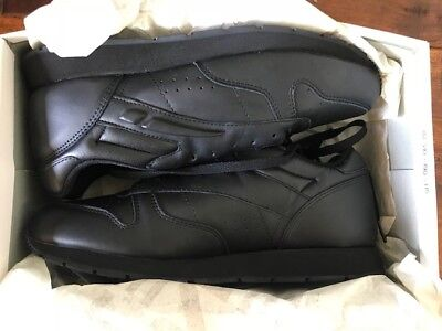 New LA Gear Racer Leather Sz 10 NWT In Box 4236 Vintage 1992 Black