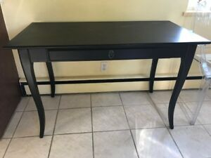Desk/Table, black - $85 (Vancouver East)