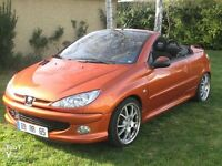 Peugeot 206cc Convertible 1.6 Petrol For Sale - 2001 reg